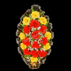 Венок из искусственных цветов ВС-15
