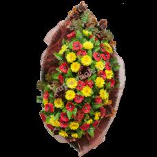 Венок из искусственных цветов ВА-03