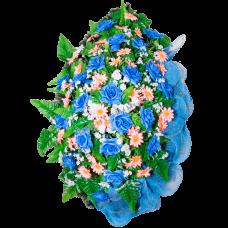 Венок из искусственных цветов ВА-02