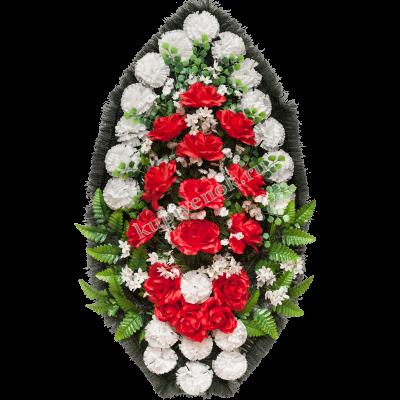 Венок из искусственных цветов купить в Мосвке