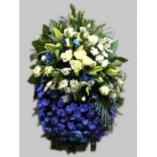 Ритуальный Венок из живых цветов ВЖ-70